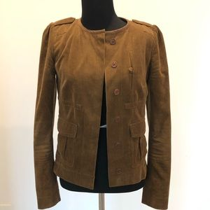 Chloe brown corduroy jacket -34